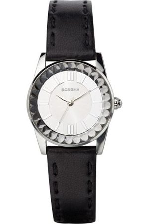 BCBG Max Azria BCB Girls Women's Quartz Watch with Dial Analogue Display and Leather Strap GL2013