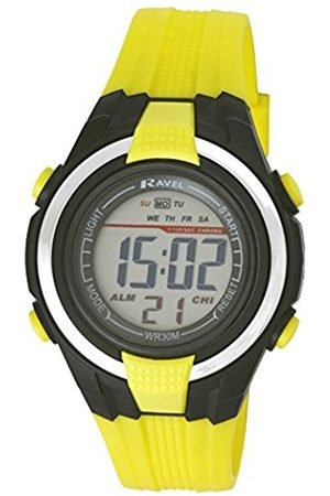 Boys Watches - Ravel LCD Digital Water Resistant Sports Boy's Digital Watch with Dial Digital Display and Plastic Strap RDB-15