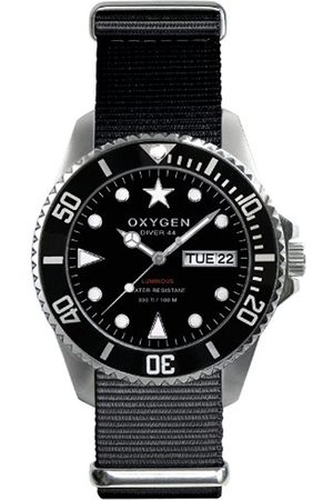 Oxygen Moby Dick 44 Unisex Quartz Watch with Dial Analogue Display and Nylon Strap
