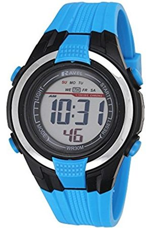 Boys Watches - Ravel LCD Digital Water Resistant Sports Boy's Digital Watch with Dial Digital Display and Plastic Strap RDB-16