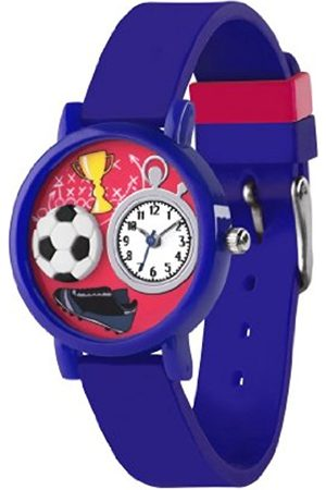 Boys Watches - Children's Quartz Watch with Dial Analogue Display and Silicone Strap TK0068