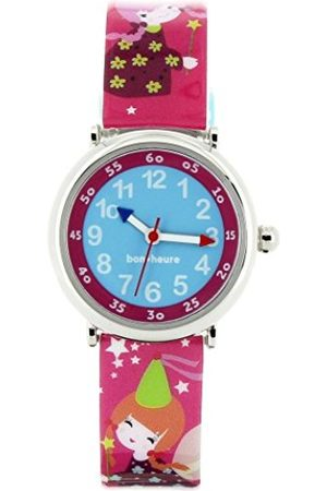 Baby Watch Watch Baby Set-Fairy Girls Watch-Watch Educational 4-7 Years- Dial Bracelet with Beads Plastic Multicoloured