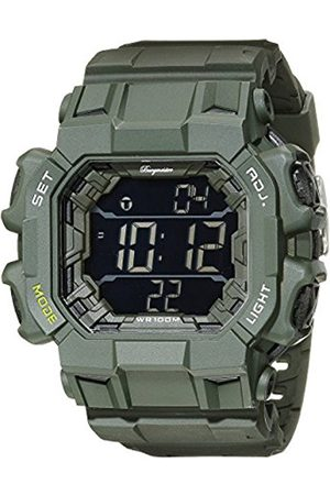 Men Watches - Men's Quartz Watch with Dial Digital Display and Plastic Bracelet BM804-020