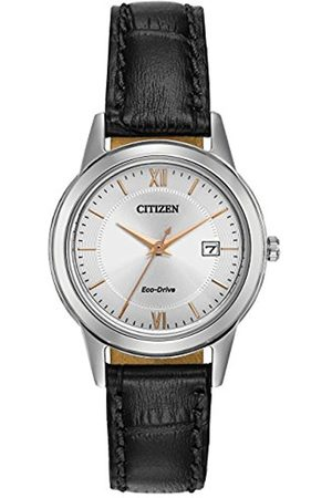 Citizen Watch women's Eco Drive Watch with Dial analogue Display and leather Strap FE1086-04A