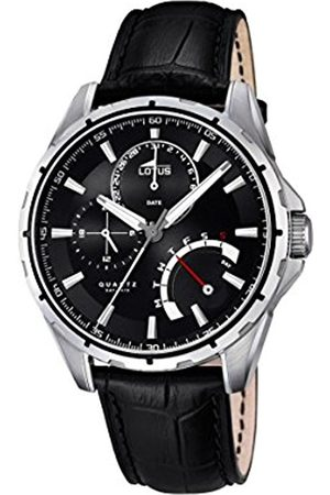 Men Watches - Lotus Men's Quartz Watch with Dial Analogue Display and Leather Strap 18208/2