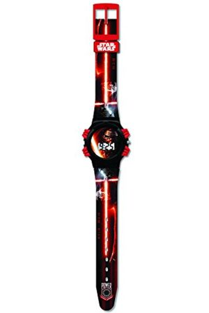 Women Watches - 27379 Star Wars Kylo Ren LCD Sports Watch in Blister Pack