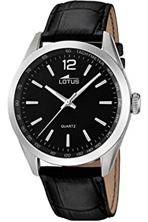 Men Watches - Lotus Men's Quartz Watch with Dial Analogue Display and Leather Strap 18149/2