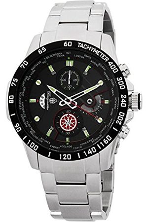 Men Watches - Men's Quartz Watch with Dial Chronograph Display and Stainless Steel Bracelet BMS01-121
