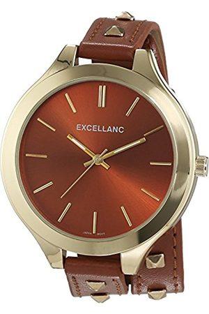 Excellanc Women's Quartz Watch with Faux Leather 199207500001