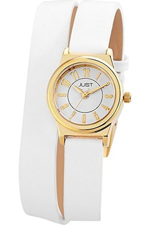 Women Watches - Ladies Watch XS Analogue Quartz 48–Leather S4062–Gd-WH