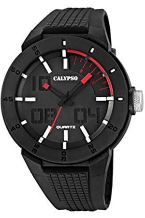 Men Watches - Calypso Men's Quartz Watch with Dial Analogue Display and Plastic Strap K5629/2
