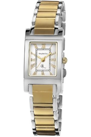 ORPHELIA Women's Quartz Watch with Dial Analogue Display and Silver Stainless Steel