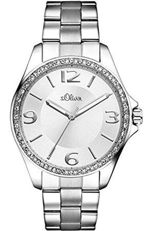Women Watches - s.Oliver Women's Quartz Watch SO-2965-MQ SO-2965-MQ with Metal Strap