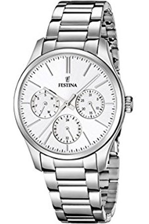 Women Watches - Festina Women's Quartz Watch with Dial Analogue Display and Stainless Steel Bracelet F16813/1