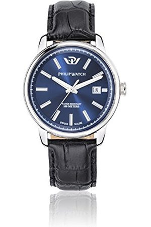 Men Watches - Philip Kent Men's Quartz Watch with Dial Analogue Display and Leather Strap R8251178008