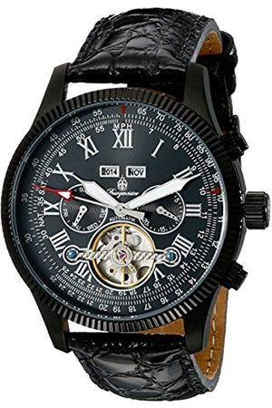 Men Watches - Men's Automatic Watch with Dial Analogue Display and Leather Bracelet BM330-622