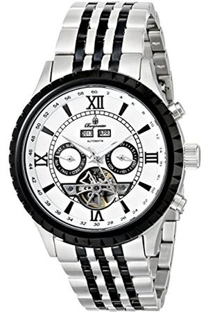 Men Watches - Denver Men's Automatic Watch with Dial Analogue Display and Two Tone Stainless Steel Bracelet BM327-187
