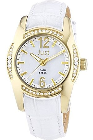 Women Watches - Women's Quartz Watch with Leather 48–S8368Wh-Gd