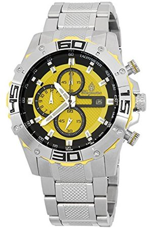 Men Watches - Men's Quartz Watch with Dial Analogue Display and Stainless Steel Bracelet BM534-191