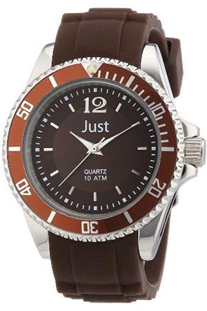 Women Watches - Women's Quartz Watch 48-S3857-BR with Rubber Strap