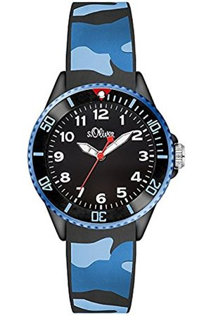 Boys Watches - s.Oliver S. Oliver Boys 'Watch Analogue Quartz Silicone So 3109/PQ