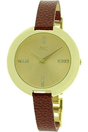 Women Watches - Women's Quartz Watch 51447 with Leather Strap