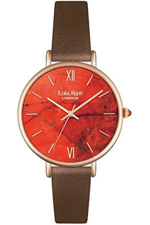 Lola Rose Women's Quartz Watch with Dial Analogue Display and Leather Strap LR2018