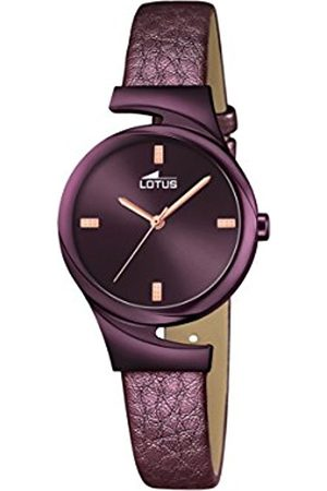 Women Watches - Lotus Women's Quartz Watch with Dial Analogue Display and Leather Strap 18346/1