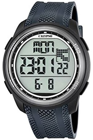 Watches - Calypso Unisex Digital Watch with LCD Dial Digital Display and Plastic Strap K5704/6