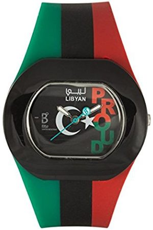 Watches - Unisex Quartz Watch Analogue Display and Silicone Strap B PROUD Libyan