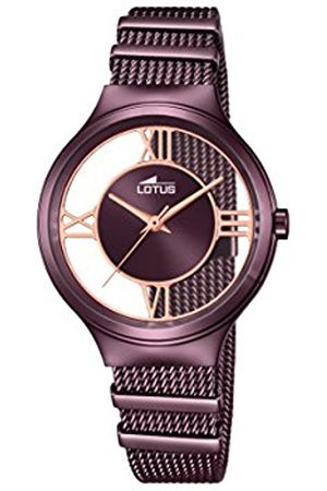 Women Watches - Lotus Women's Quartz Watch with Dial Analogue Display and Stainless Steel Plated Bracelet 18335/1