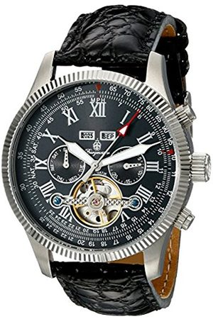 Burgmeister BM330-122 Malabo, Gents automatic watch, Analogue display - Water resistant, Stylish leather strap