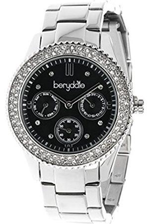 Berydale BD 701-2 Women's Watch Quartz Chronograph Stainless Steel Bracelet and