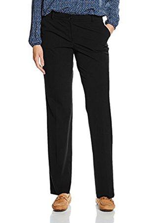 Women Trousers - More & More Women's Hanna Konfektionshose Trousers, -Schwarz ( 0790)