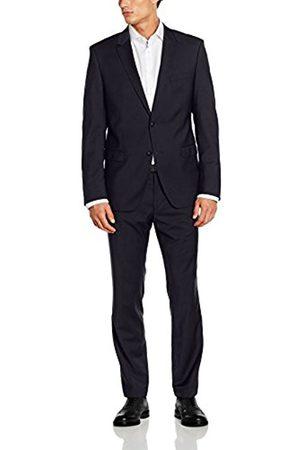Men Suits - Bugatti Men's 683000-99801 Suit, -Blau (Dunkelblau 42)