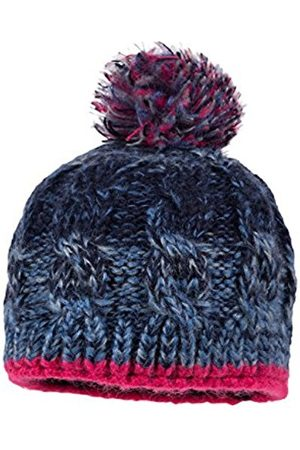 Girls Hats - maximo Girl's 63573-769500 Hat, Multicoloured-Mehrfarbig (Bluemelange/Dunkelpink 6357)