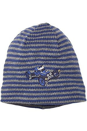 Beanies - Sterntaler Baby Boys' Beanie Hat, -Blau (Nachtblau 366)