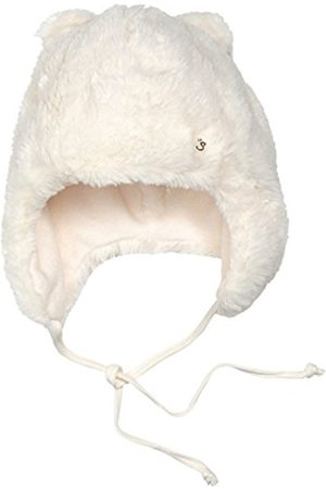 Hats - Sterntaler Baby Girls' Inkamütze Hat, - (Ecru 903)