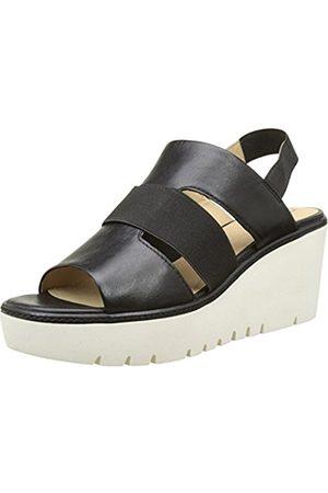Women Sandals - Geox D Domezia B, Women's Wedge Heels Sandals