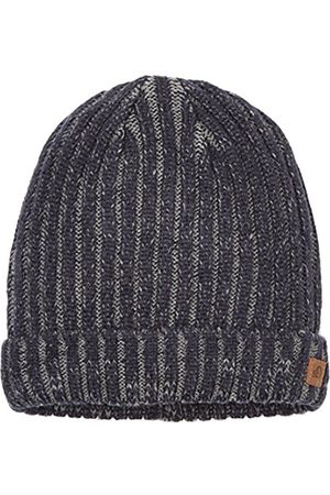 Boys Hats - s.Oliver Boy's Mit Struktur Hat, -Blau (Dark 5874)