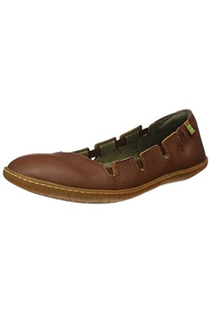 Women Platforms - El Naturalista S.A N5272 Soft Grain El Viajero, Women's Shoes with flat platform