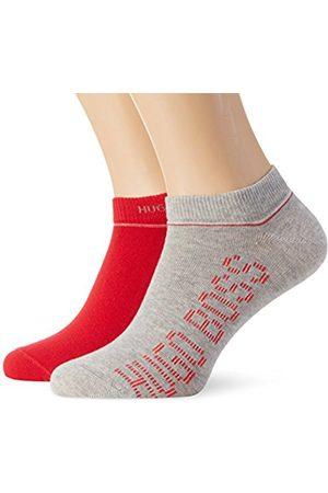 Men Socks - HUGO BOSS Men's Twopack AS Design Calf Socks