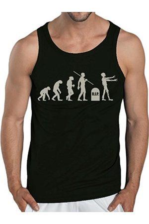 Men Tank Tops - Touchlines Men's Tank Top - Evolution Zombies Size:M