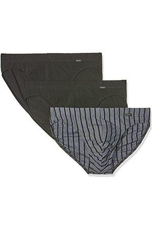Men Briefs - Esprit Men's Tp Classic Stripe Tp Mini Brief Boxer-Pack of 3 ( 001)