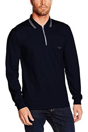 Men Polo Shirts - Trigema Men's Langarm Polo Shirt