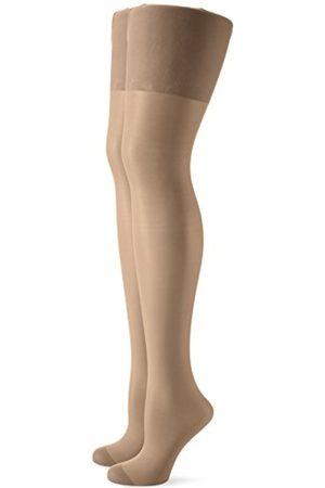 Women Tights & Stockings - Women's Strumpfhose Mit Zwickel Und Abgestufter Kompression 2er Pack Tights, 40 Den