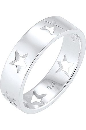 Women Rings - Women 925 Sterling Stars Ring - Size N