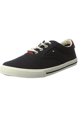Tommy Hilfiger Boys Trainers - W3285inston Jr 1d, Boys' Low-Top Sneakers, (Midnight 403)