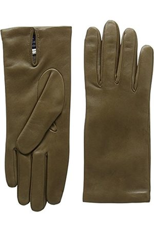 Women Gloves - Women's Italian Leather Lined Plain Gloves