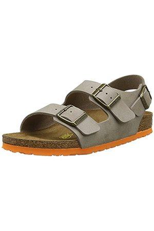 Boys Sandals - Birkenstock Boys' Milano Sandals with Rear Strap Size: 6